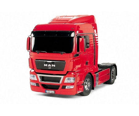 1:14 RC MAN TGX 18.540 (red prepainted)