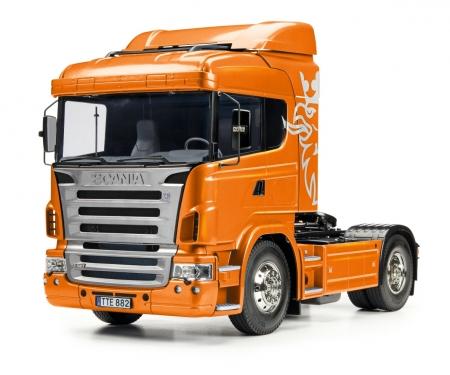 1:14 RC Scania R470 4x2 Orange met.Vorl.