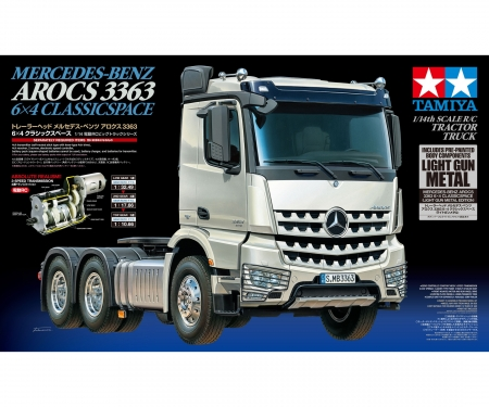 tamiya Arocs 3363 (Light Gun Metal)