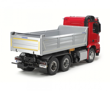 tamiya 1:14 RC MB Arocs 3348 Tipper Red/Silver