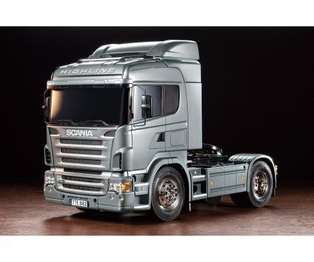 tamiya 1:14 RC Scania R470 Silber Edition