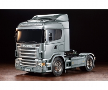 tamiya 1:14 RC Scania R470 Silber Edition