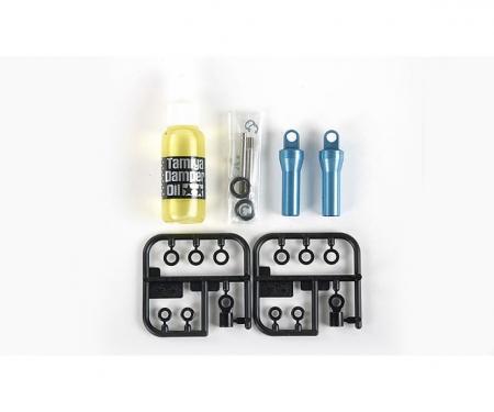 tamiya 1:14 Truck Öldruckstoßdämpfer blau (2)
