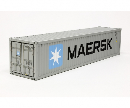 tamiya 1:14 40ft. Maersk Container Baus.f.56326