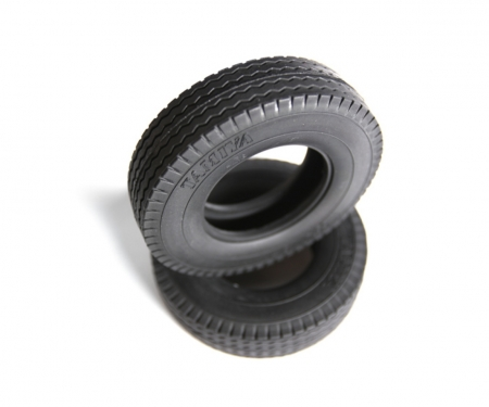 tamiya 1:14 Tractor Truck Tire (2) hard / 22mm