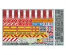 tamiya 1:14 Warning-Sticker Set Tractor/Trailer
