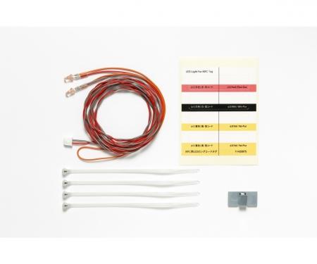 tamiya MFC-LED Rot Ø3mm (2) Länge 1100mm