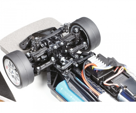1:10 RC TT-02 Chassis built up