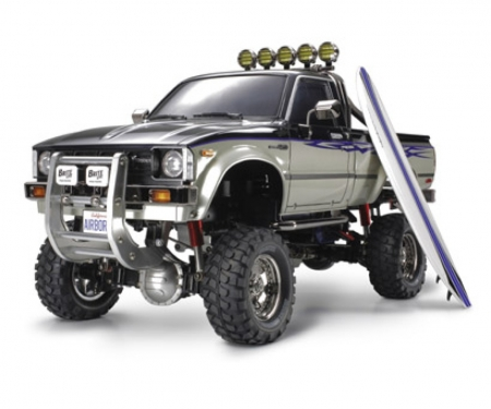 tamiya 1:10 RC Toyota HiLux HighLift 4x4 3-Gang