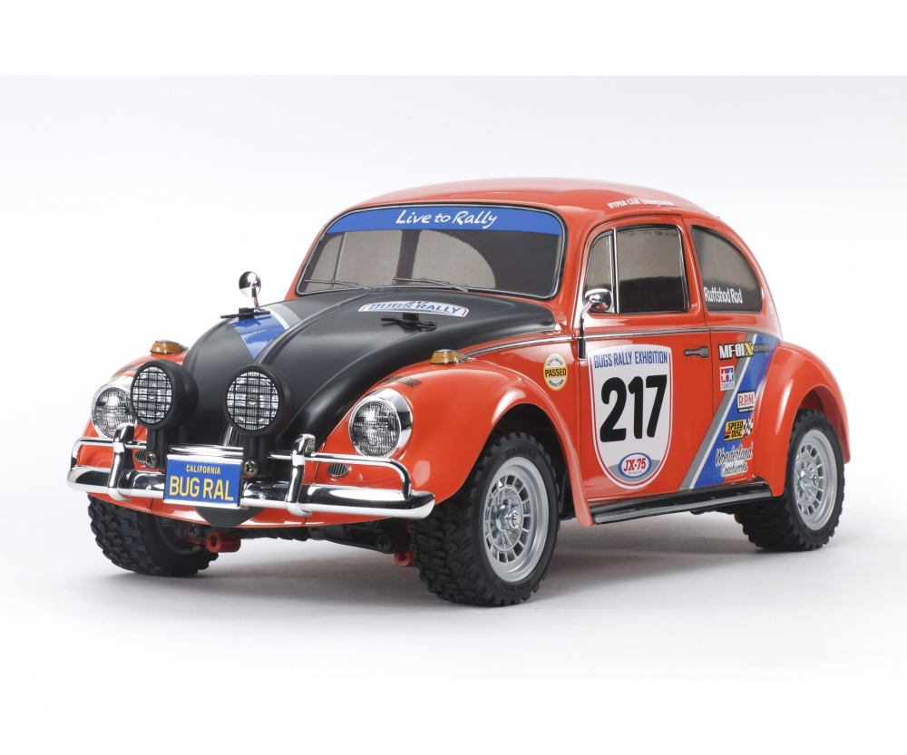 Vw Beetle Rally Mf 01x Rc On Road 2 4 Wd Rc Models
