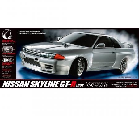 tamiya 1:10 RC Skyline GT-R (R32) (TT-02D)