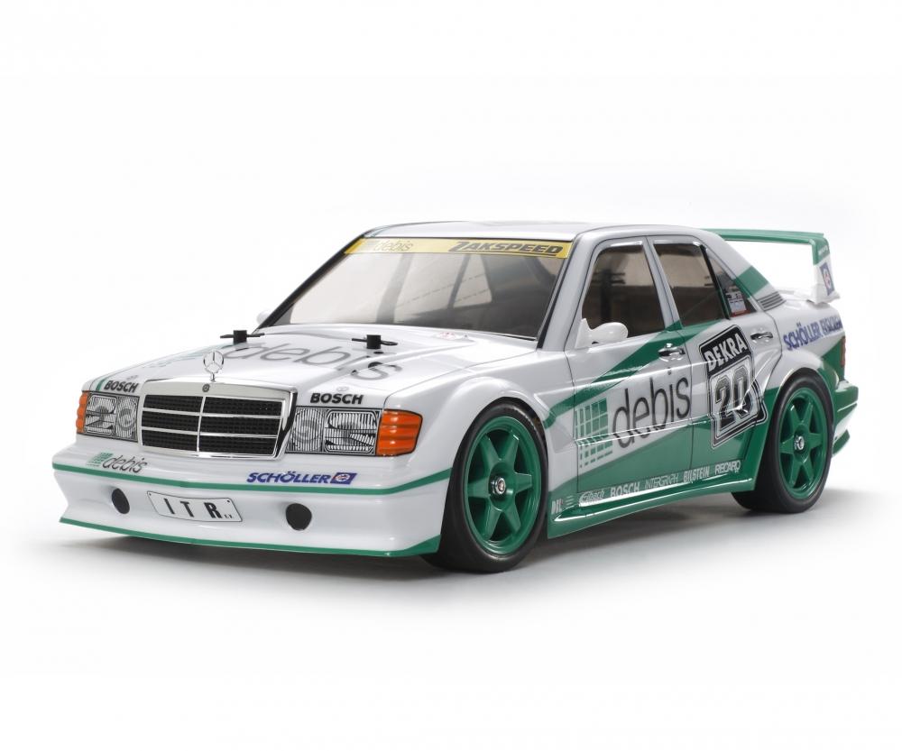 Tamiya DTM Mercedes 190E debis TT-01E 1:10 RC 300058656