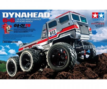 tamiya 1:18 RC Dynahead 6x6 (G6-01TR)