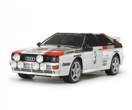 tamiya 1:10 RC Audi Quattro A2 (TT-02)
