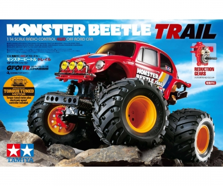 tamiya 1:14 RC Monster Beetle Trail (GF-01TR)