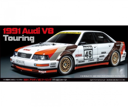 tamiya 1991 Audi V8 Touring (TT-02)