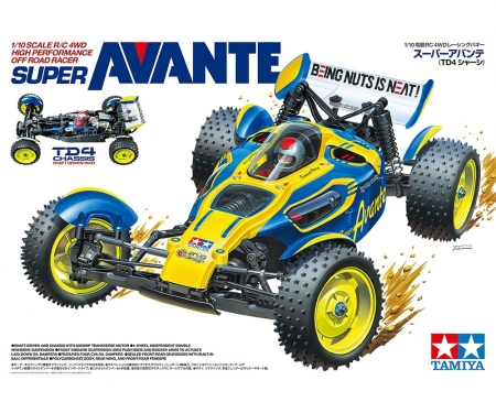 tamiya 1:10 RC Super Avante (TD4) 4WD
