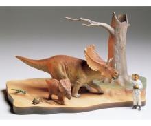 1:35 Chasmosaurus Diorama Set
