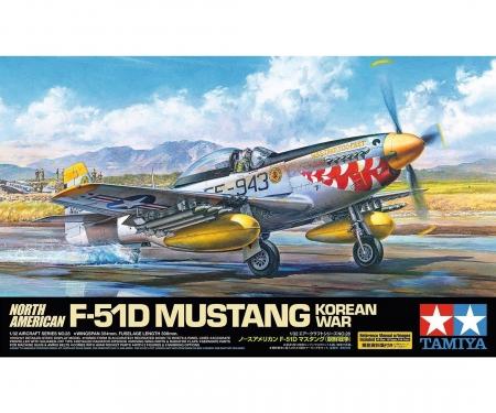 tamiya 1:32 N.A. F-51D Mustang Korean War
