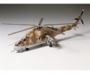 tamiya 1:72 Mil Mi-24 Hind Helicopter