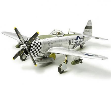 tamiya 1:72 P-47D Thunderbolt Bubbletop