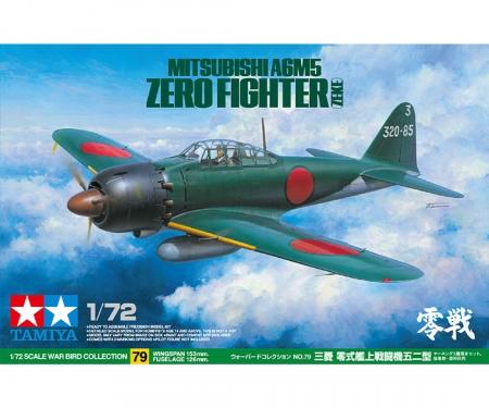 tamiya 1:72 Jap. Mitsubishi A6M5 Zero Fighter