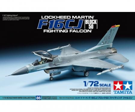 tamiya 1:72 US F-16CJ Fighting Falcon