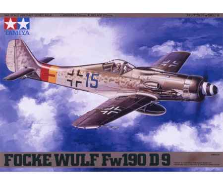 tamiya 1:48 Dt.Focke Wulf Fw190 D-9