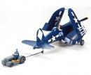 1:48 F4U-1D Corsair w/ 'Moto-Tug'