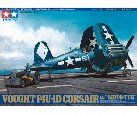 tamiya 1:48 F4U-1D Corsair w/ 'Moto-Tug'