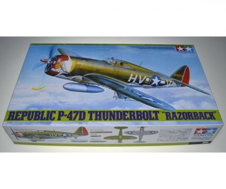 tamiya 1:48 WWII US Re.P-47D Thunderb.Razorback