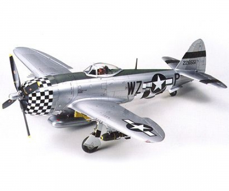 tamiya 1:48 US Rep. P-47D Thunderbolt Bubblet