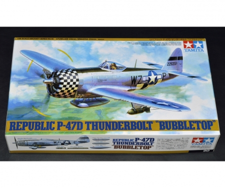 1:48 WWII US Rep. P-47D Thunderb.Bubblet