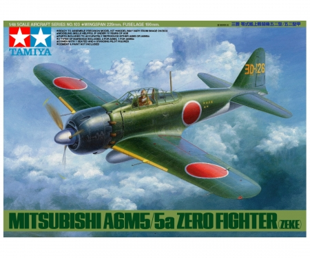 1:48 WWII Jp.Mitsub.A6M5/5a Zero Fighter