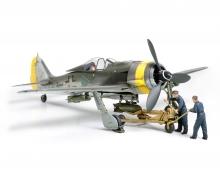 tamiya 1:48 WWII Dt. F.W. Fw190 F-8/9 m.Belad.