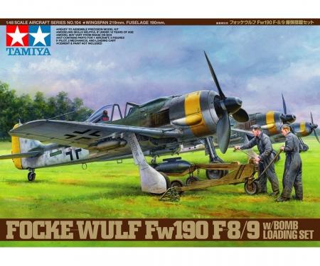 tamiya 1:48 Dt. F.W. Fw190 F-8/9 m.Belad.
