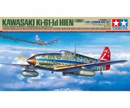 tamiya 1:48 Jap. Ki-61-Id Hien (Tony) Flzg.