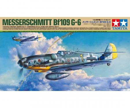 tamiya 1/48 Bf109 G-6