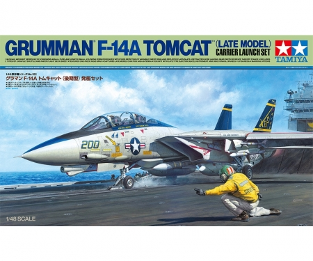 tamiya 1:48 F-14A Late Carrier Launch Set