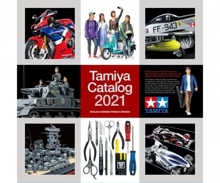tamiya 2021 Tamiya Catalog (GB/Ger./F/E)