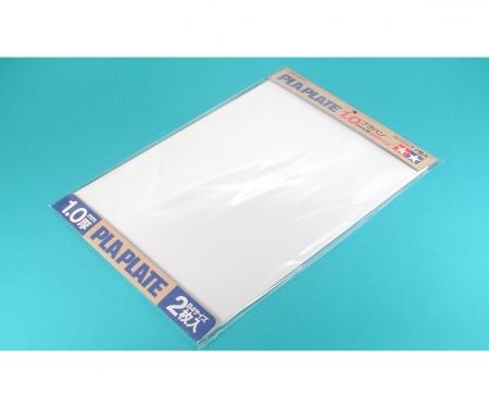 tamiya Kst-Platte 1,0mm (2) weiß 257x364mm