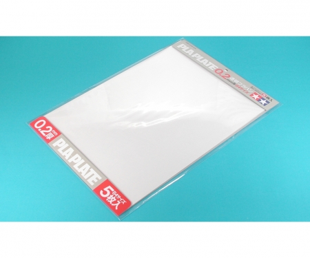 tamiya Clear Pla-Plate 0.2mm B4 (5)