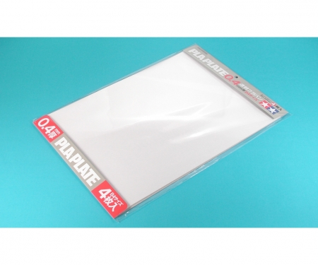 tamiya Clear Pla-Plate 0.4mm B4 *4