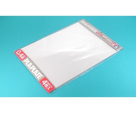 tamiya Kst-Platte 0,4mm (4) klar 257x364mm