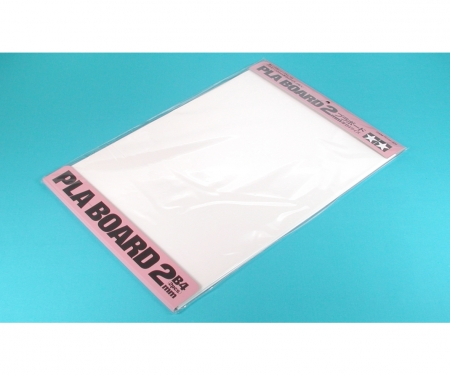 tamiya Pla-Board 2mm B4 (2) white 257x364mm