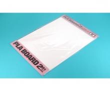 tamiya Pla-Board 2mm B4 (2) white 257x364mm