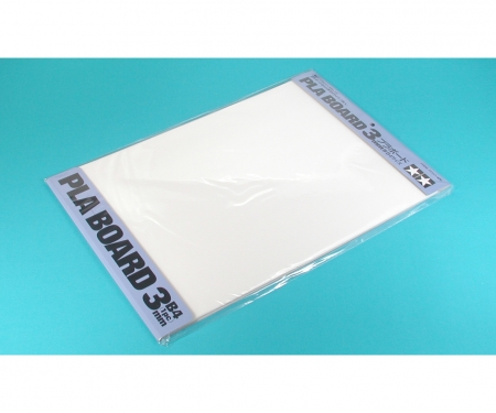 tamiya Pla-Board 3mm B4 (1) white 257x364mm