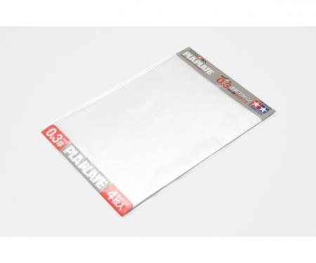 tamiya Clear Pla-Plate 0.3mm B4 (4) 257x364mm