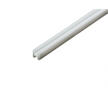 tamiya H-Profil 3x3mm (5) 400mm weiß Kst.