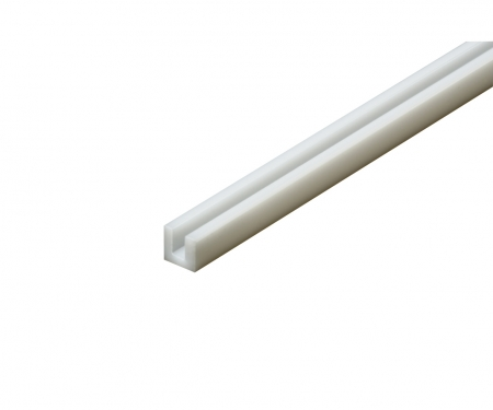 tamiya Plastic Beams 3mm U (5) white